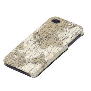 Étui iPhone 4 Mappemonde