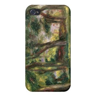 Étui iPhone 4 Pierre arbres de Renoir un |