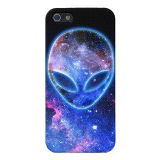 Étui iPhone 5 Alien dans l'espace