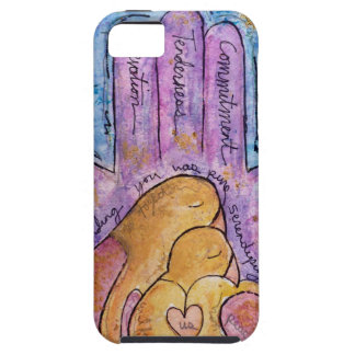 Étui iPhone 5 Amour Hamsa