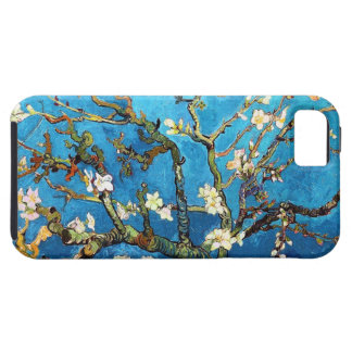 Étui iPhone 5 Beaux-arts se développants d'arbre d'amande de Van