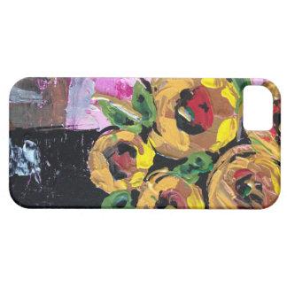 Étui iPhone 5 Belles fleurs lumineuses