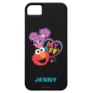 Étui iPhone 5 BFF Abby et Elmo   ajoutent votre nom