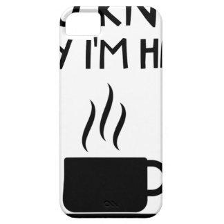 Étui iPhone 5 Camaraderie bue anonyme du café aa