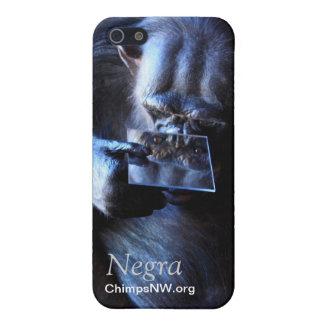 Étui iPhone 5 Cas de l'iPhone 5/5S de Negra de chimpanzé