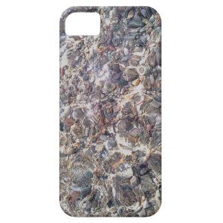 Étui iPhone 5 Cas d'Otterbox de photo de l'eau de cailloux