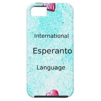 Étui iPhone 5 Conception internationale de langue d'espéranto