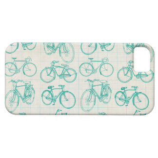 Étui iPhone 5 Conception vintage de vélos je téléphone le cas