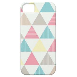 Étui iPhone 5 Couche pour cellulaire avec figure géométrique