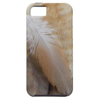 Étui iPhone 5 De Brown d'oie de plume toujours la vie
