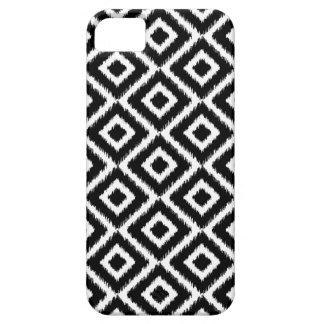 Étui iPhone 5 Diamants noirs et blancs d'Ikat