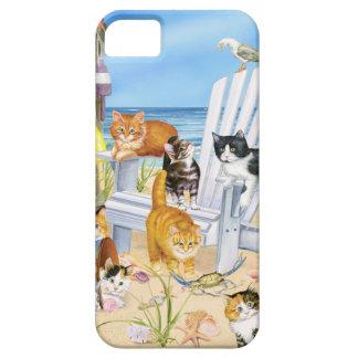 Étui iPhone 5 Échouez le Se d'iPhone de chatons et la caisse