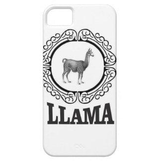 Étui iPhone 5 étiquette de lama