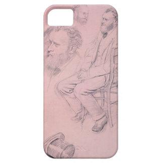 Étui iPhone 5 Étude d'Edgar Degas | pour le portrait d'Edouard
