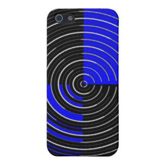 Étui iPhone 5 Filet argenté de RoyalBlue n