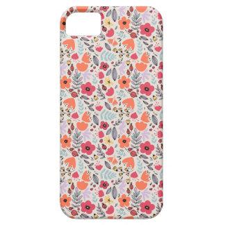 Étui iPhone 5 Fleurs d'imaginaire