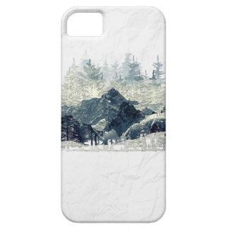 Étui iPhone 5 Forêt d'hiver