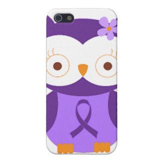 Étui iPhone 5 Hibou de fibromyalgie