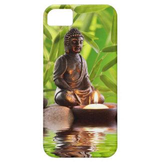 Étui iPhone 5 jardin de sérénité de zen de Bouddha