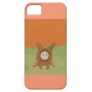 Étui iPhone 5 la chute personnalisable possèdent dans un arbre