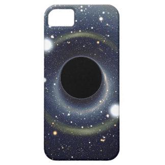 Étui iPhone 5 La NASA d'anneau d'Einstein de trou noir