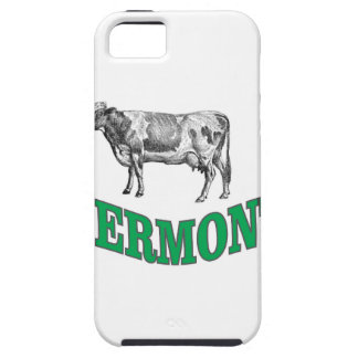 Étui iPhone 5 le Vermont vert