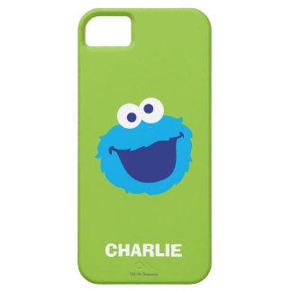 Étui iPhone 5 Le visage   de monstre de biscuit ajoutent votre