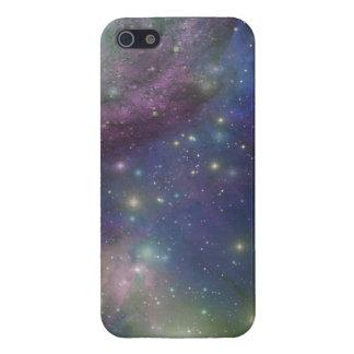 Étui iPhone 5 L'espace, étoiles, galaxies et nébuleuses