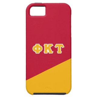 Étui iPhone 5 Lettres de Grec de Tau   de Kappa de phi
