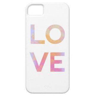 Étui iPhone 5 Love, Watercolor