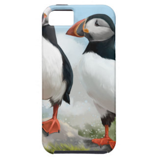 Étui iPhone 5 Macareux atlantiques