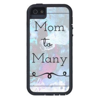 Étui iPhone 5 Maman à beaucoup
