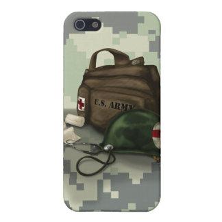 Étui iPhone 5 Médecin Camo d'armée