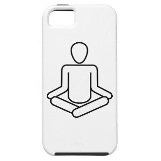 Étui iPhone 5 Méditation-logo