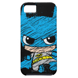 Étui iPhone 5 Mini croquis de Batman