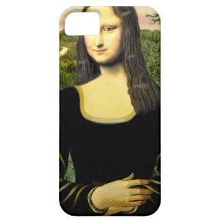 Étui iPhone 5 Mona Lisa - insérez un animal familier (#2)