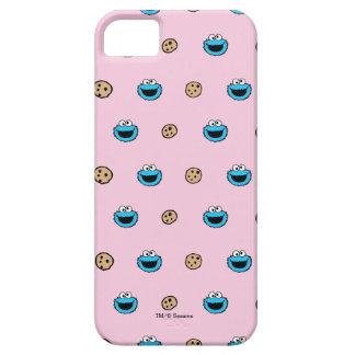 Étui iPhone 5 Monstre de biscuit et motif de rose de biscuits