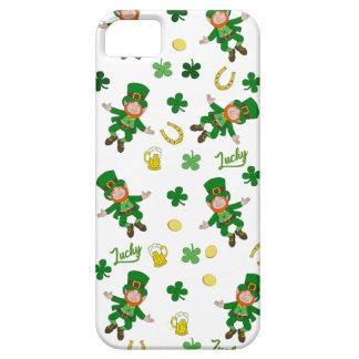 Étui iPhone 5 Motif de Jour de la Saint Patrick