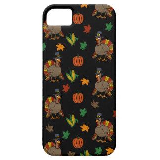 Étui iPhone 5 Motif de la Turquie de thanksgiving
