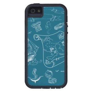 Étui iPhone 5 Motif graphique nautique de modèle