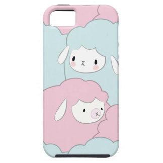 Étui iPhone 5 Motif mignon de moutons de bande dessinée