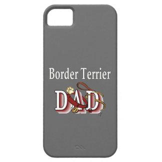 Étui iPhone 5 Papa de Terrier de frontière