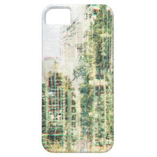 Étui iPhone 5 Paysage urbain et forêt