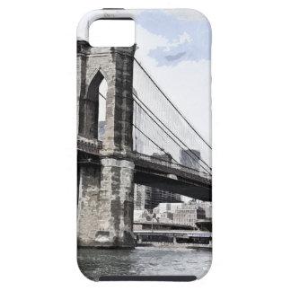 Étui iPhone 5 Paysage urbain Etats-Unis de ville d'horizon