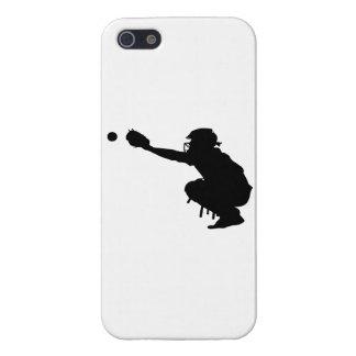 Étui iPhone 5 Receveur de base-ball