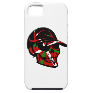 Étui iPhone 5 Skull surfeur Basque
