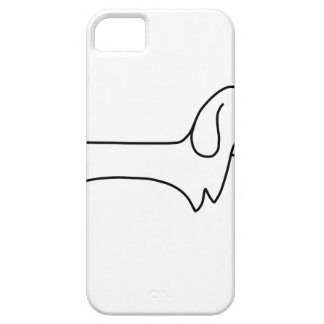 ÉTUI iPhone 5 TECKEL, HOT-DOG, CHIEN DE SAUCISSE, MIGNON,