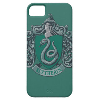 Étui iPhone 5 Vert de crête de Harry Potter | Slytherin