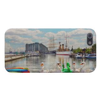Étui iPhone 5 Ville - Philadelphie, PA - le lieu de