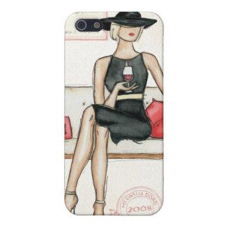 Étui iPhone 5 Vin potable de Fashionista